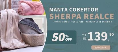 Cobertor Sherpa  Pele De Carneiro