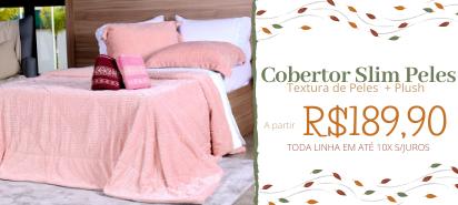 Cobertor Slim Peles