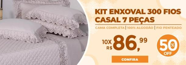 Kit Enxoval 300 Fios