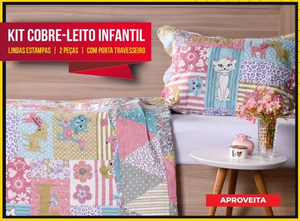 Kit Cobre Leito Infantil
