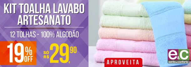 Toalha Lavabo