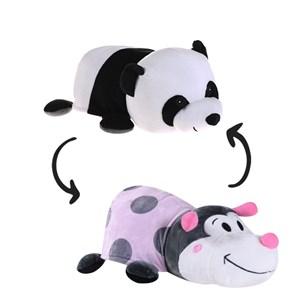1 Bichinho De Pelúcia   Flip 2 Em 1 Panda\Joaninha - Bene Casa