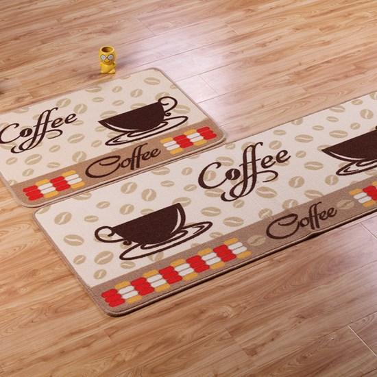 1 Tapete 40Xm X 60Cm De Cozinha Antiderrapante Colori Coffee - Bene Casa
