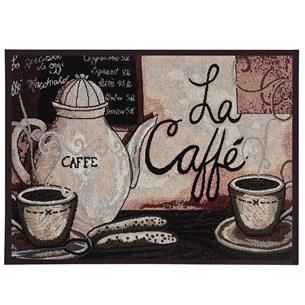 1 Tapete 45Cm X 65M De Cozinha Jacquard Antiderrapante La Caffe - Tessi