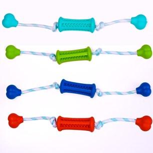 Acessório Pet Dental Play   Mintfresh Limpeza Dos Dentes Com Corda Sortido - Meu Pet