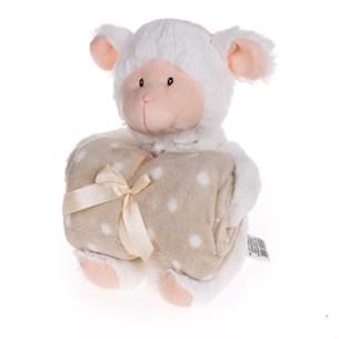 Bichinho + Manta Bebê   Premium Ovelinha - Bene Casa