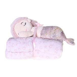 Bichinho + Manta Bebê Super Fofinhos   Ideal Para Presente Encant - Bene Casa