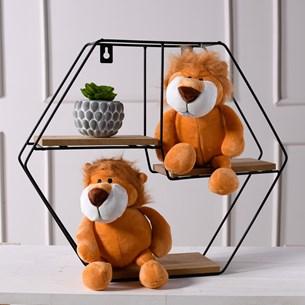 Bichinhos De Pelucia   Animais Da Floresta Leão - Meu Pet
