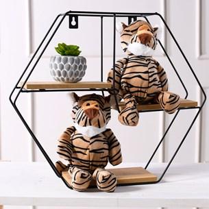 Bichinhos De Pelucia   Animais Da Floresta Tigre - Meu Pet