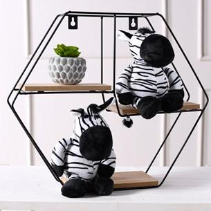 Bichinhos De Pelucia   Animais Da Floresta Zebra - Meu Pet