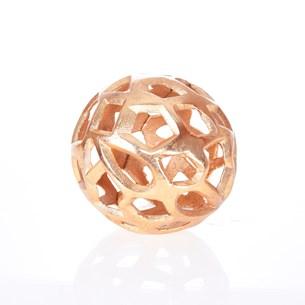 Bola Decorativa Orbicular   Dourado - Tessi