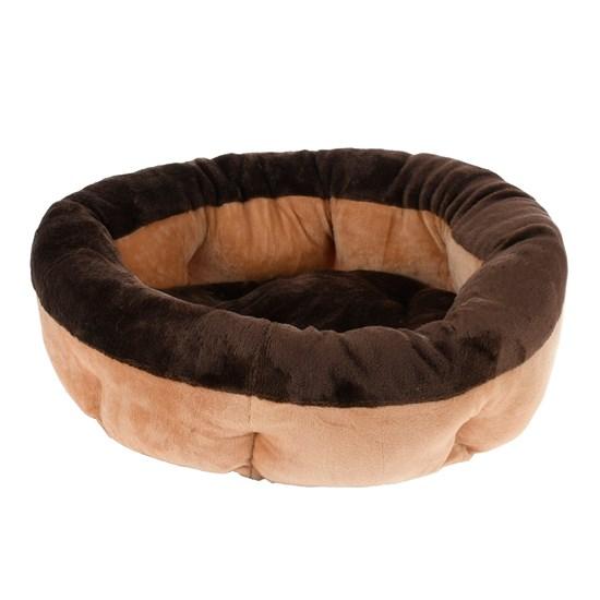 Cama Pat Para Cães E Gatos 50Cm Soft Bege - Meu Pet