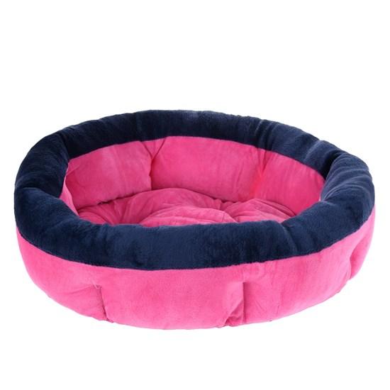Cama Pat Para Cães E Gatos 50Cm Soft Rosa Pink - Meu Pet