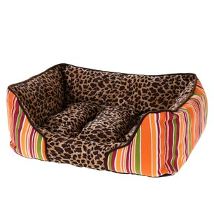 Cama Pet Cachorros E Gatos 55Cm X 45Cm Animal Print Animal - Meu Pet