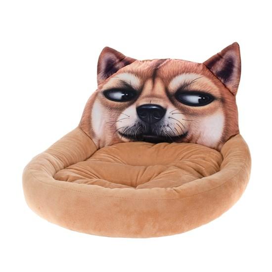 Cama Pet Cachorros E Gatos 60Cm X 50Cm Digital Print Cachorro Marrom - Meu Pet