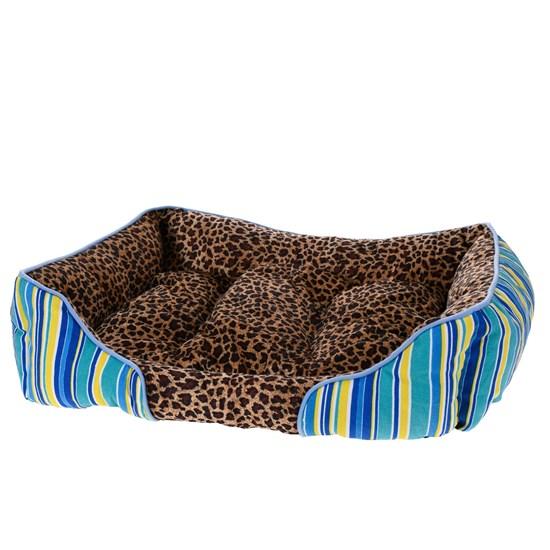 Cama Pet Cachorros E Gatos 80Cm X 60Cm Animal Print Animal - Meu Pet