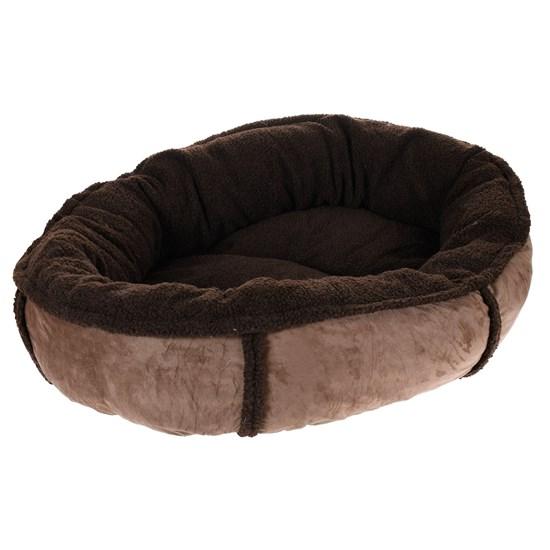 Cama Pet Cachorros Grandes 1,00 X 80Cm Extra Macia Marrom - Meu Pet