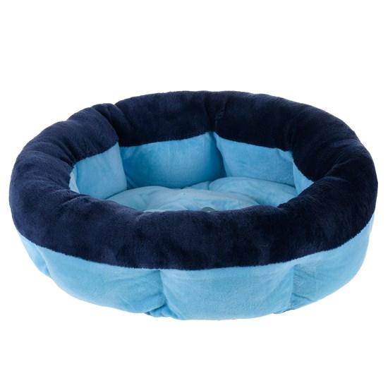 Cama Pet Para Cães E Gatos 40Cm Soft Azul - Meu Pet