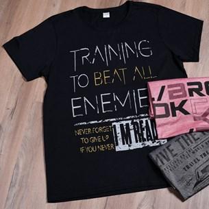 Camiseta Malha 100% Algodão G   Black Urban - Due