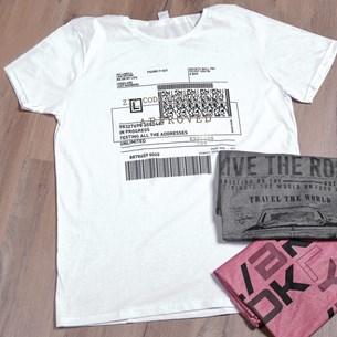 Camiseta Malha 100% Algodão G   Code - Due