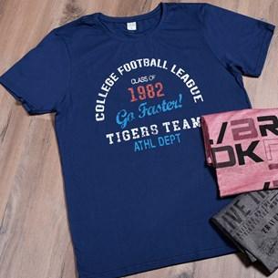 Camiseta Malha 100% Algodão Gg   Football - Due