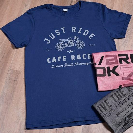Camiseta Malha 100% Algodão Gg   Just Ride - Due