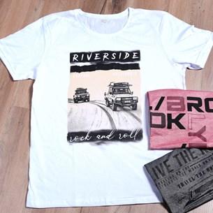 Camiseta Malha 100% Algodão Gg   Riverside - Due