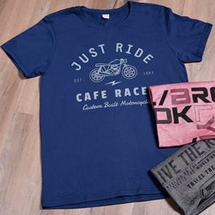 Camiseta Malha 100% Algodão M   Just Ride - Due