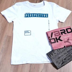 Camiseta Malha 100% Algodão M   Perspective - Due