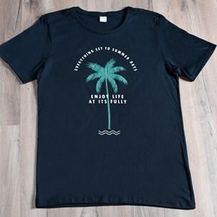Camiseta Malha 100% Algodão M   Summer Life - Due
