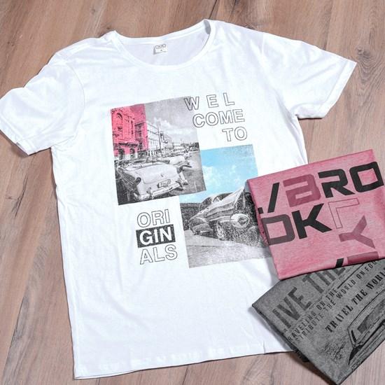 Camiseta Malha 100% Algodão M   Welcome - Due