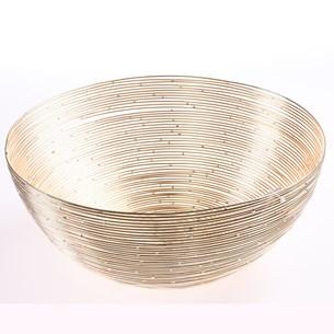 Cesto Decorativo Straw Dourado Straw   Dourado - Tessi