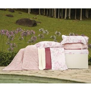 Cobertor King Slim Peles Dupla Face Com Porta Travesseiro Blush - Tessi