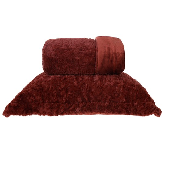 Cobertor King Slim Peles Dupla Face Com Porta Travesseiro Ferrara - Tessi
