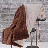 Produto Cobertor Manta Sherpa Realce Casal Lã De Carneiro Dupla Face Areia - Bene Casa