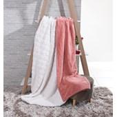 Produto Cobertor Sherpa Queen Pele De Carneiro E Toque Flannel Batom - Tessi