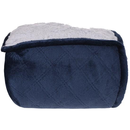 Cobertor Sherpa Solteiro Pele De Carneiro Matelassado Extra Quentinho Topazio - Tessi