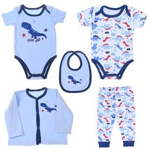 Conjunto Roupinhas Para Bebê 3-6 Meses   Azul - Bene Casa