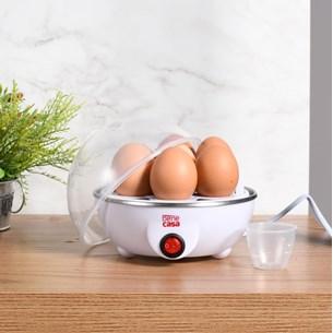 Cozedor De Ovos A Vapor 220 V Fácil De Usar E Lavar Sortido - Bene Casa