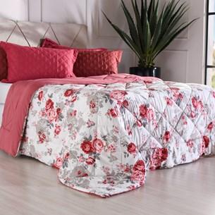 Edredom Queen Toque Super Macio 180G/M² Essential Garden - Bene Casa