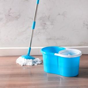 Esfregão Mop Giratório Com Balde Gira 360° Super Prático E Resistente Sortido - Bene Casa