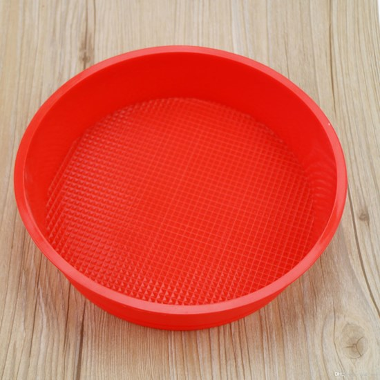 Forma De Bolo Redondo Em Silicone 25Cm X 3,2Cm   Sortido - Bene Casa