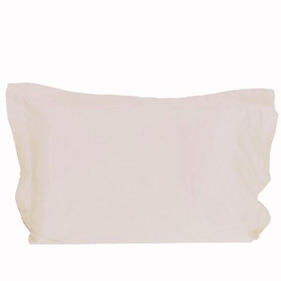 Fronha Avulsa 50Cm  X 70Cm 400 Fioss Toque Suave Cream Classe - Tessi