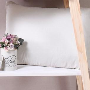 Fronha Avulsa 50Cm X 70Cm Extra Macia Cotton Touch Cream - Bene Casa