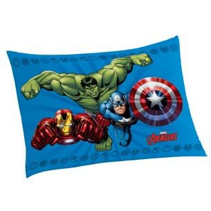 Fronha Infantil 50Cm  X 70Cm Avengers Sortido - Panosul
