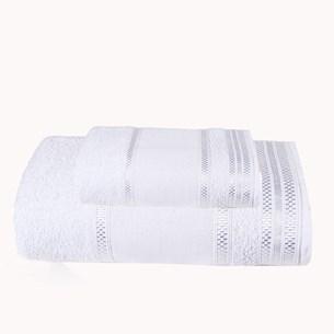 Jogo Banho E Rosto Banho E Rosto Algodão Extra Macio Branco - Bene Casa