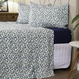Jogo De Cama Casal Toque Macio + Sacolinha De Brinde Cotton Touch Adorable - Bene Casa