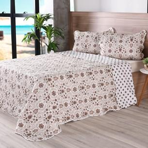 Kit 1 Cobre Leito King + Portas Travesseiros Bouti Ultrassonic Rolinho Glamour - Bene Casa