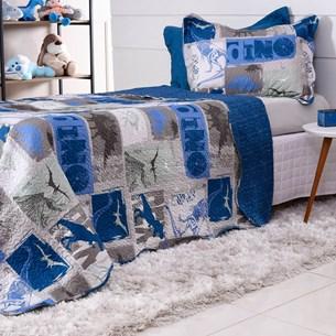 Kit 1 Cobre Leito Solteiro + 1 Porta Travesseiro Ultrasonic Bouti Dream Magic - Bene Casa