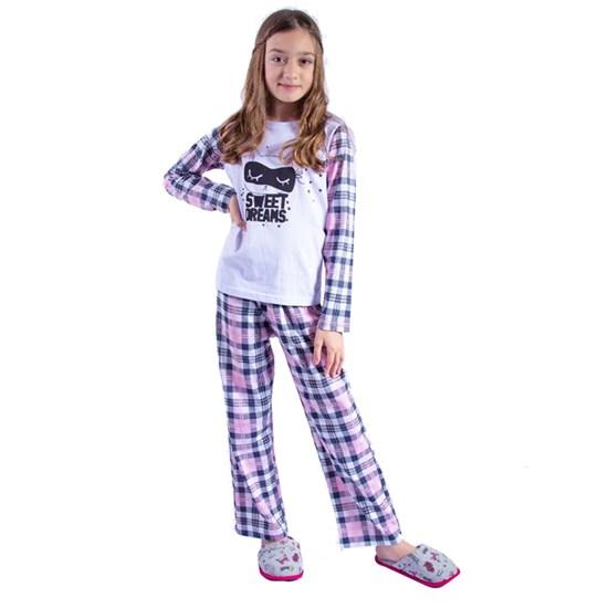 Kit 12 Pijamas Infantis Fofura Malha 100% Algodão Sortido - Due